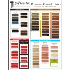 Poster: SofTap Color Chart