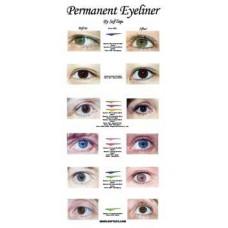 Poster: Before & After Eyeliner