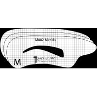 Stencil M002 - Merida